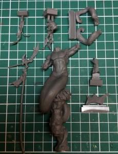 Kit review - Mediterraneo the Triton (Aradia Miniatures) - Figure