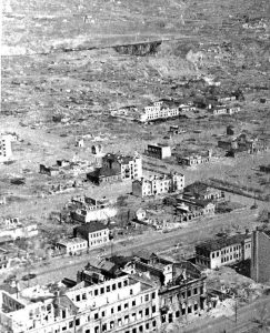 Overview of Stalingrad during the fighting