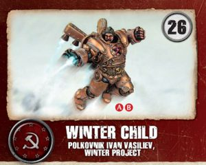 Winter Child Miniature Game