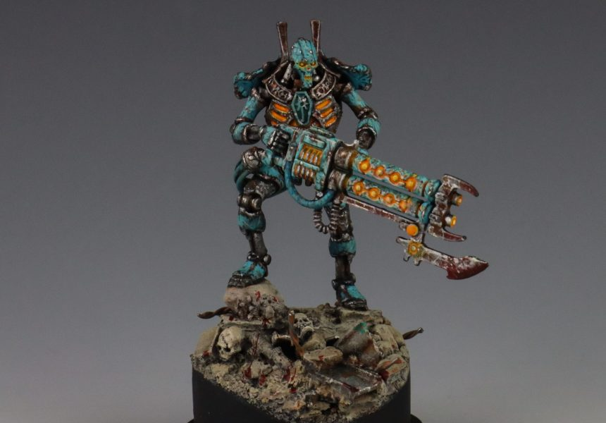 How To Paint Necrons by John Margiotta